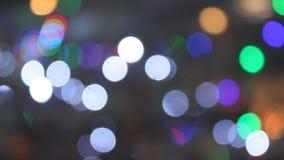 Lumières abstraites banque de vidéos