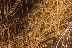 Lumières abstraites Photographie stock