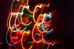 Lumières abstraites créatives Photographie stock