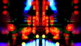 Lumières abstraites de rotation de carnaval illustration de vecteur