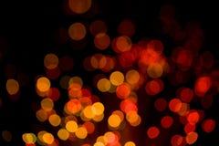 lumières abstraites de vacances de fond Photographie stock