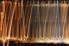 Lumières abstraites de ville image stock
