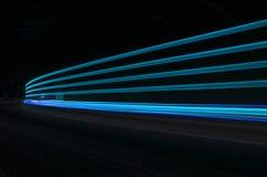 Lumières abstraites de voiture Photo stock