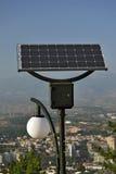 Lumières actionnées solaires Image libre de droits