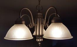 Lumières allumées photographie stock libre de droits