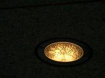 Lumières allumées de plancher Image libre de droits