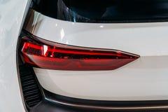 Lumières arrières de voiture de sport Images stock