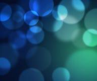 Lumières bleues Image stock