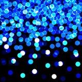 Lumières bleues Photographie stock