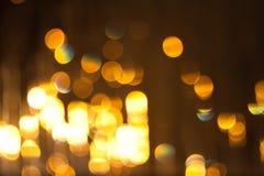 Lumières brouillées Images libres de droits