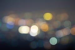Lumières brouillées Photos stock