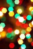 Lumières brouillées beau par Noël Photos libres de droits