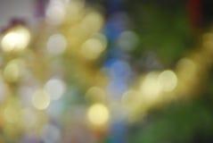 Lumières brouillées de couleur Photo libre de droits