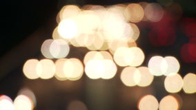 Lumières brouillées de route clips vidéos
