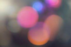 Lumières brouillées par abstrait Photos libres de droits