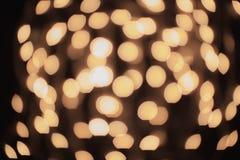 Lumières brouillées par abstrait Image stock