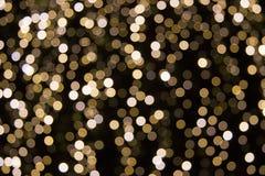 Lumières brunes abstraites Photo stock