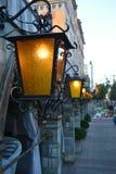 Lumières chaudes Photo libre de droits