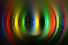 Lumières colorées Image stock