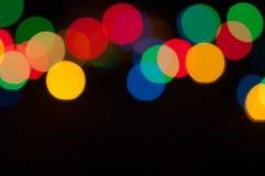 Lumières colorées Photo stock