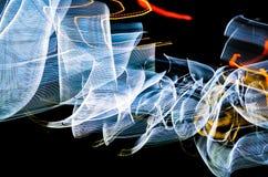 Lumières colorées abstraites Image libre de droits