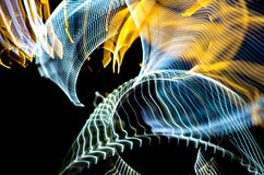 Lumières colorées abstraites Photo libre de droits