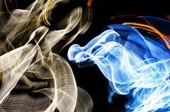 Lumières colorées abstraites Images stock