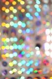 Lumières colorées brouillées Photo stock
