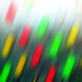 Lumières colorées colorées Photographie stock