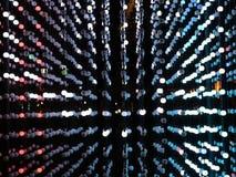 Lumières colorées de clignotant clips vidéos