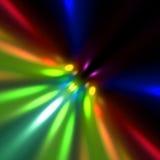 lumières colorées de tache floue Photo libre de droits