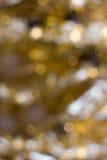 Lumières colorées sur le fond rouge Bokeh de vacances Noël abstrait Photographie stock