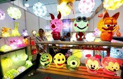 Lumières décoratives Images libres de droits