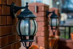 Lumières décoratives Images stock