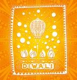 Lumières décoratives diwali Festival des lumières dans l'Inde Indien et des vacances indoues culture Vacances religieuses Images stock