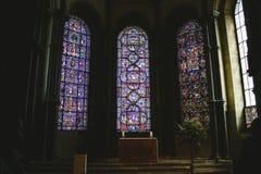 Lumières d'église photos stock