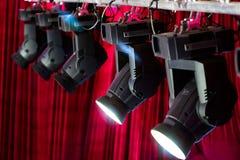 Lumières d'étape Photo libre de droits