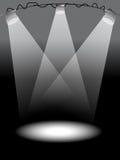 Lumières d'étape Photographie stock libre de droits