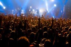 Lumières d'étape sur le concert Projecteur de hall de l'éclairage equipment Image stock