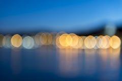 Lumières d'île Images libres de droits