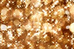 Lumières d'or Photos libres de droits