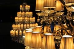 Lumières d'Elegent Photos stock