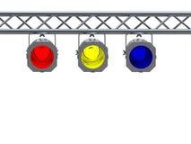 Lumières d'endroit illustration de vecteur