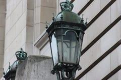 Lumières d'héritage dans la couleur verte image stock