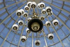 Lumières dans le ciel Photographie stock libre de droits