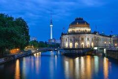 Lumières de Berlim Image libre de droits