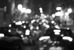 Lumières de Bokeh Photos libres de droits