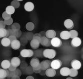 Lumières de Bokeh Photographie stock libre de droits