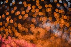 Lumières de Bokeh Images libres de droits