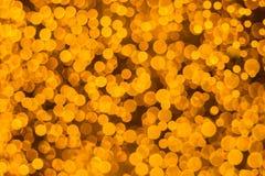 Lumières de Bokeh - fond clair rougeoyant abstrait Photo libre de droits